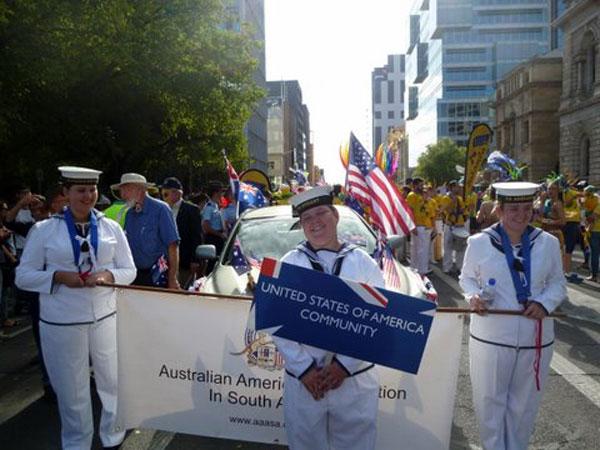 Australia Day Parade 2015