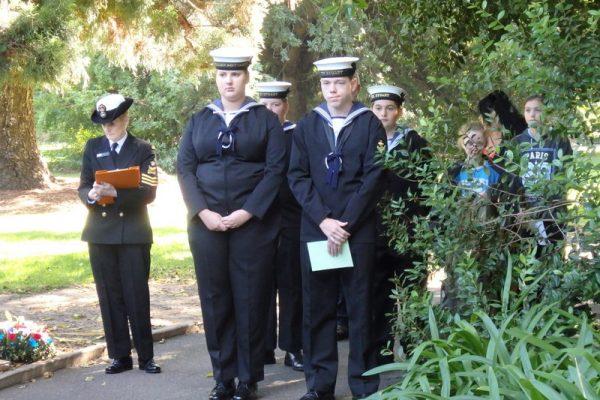 Coral Sea Service 2016
